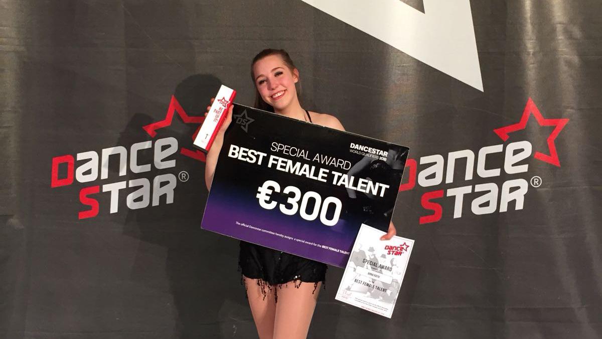 Best Female Talent Anna Rath