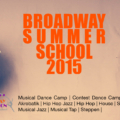 Broadway Summer School 2015