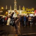 Weihnachtsmarkt-Tanzfoto Pilar