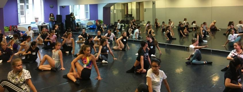 Foto von der Audition der Junior Academy 2021/22