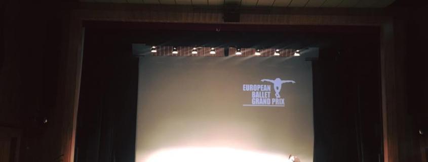 Sebastian Hofbauer beim European Ballet Grand Prix