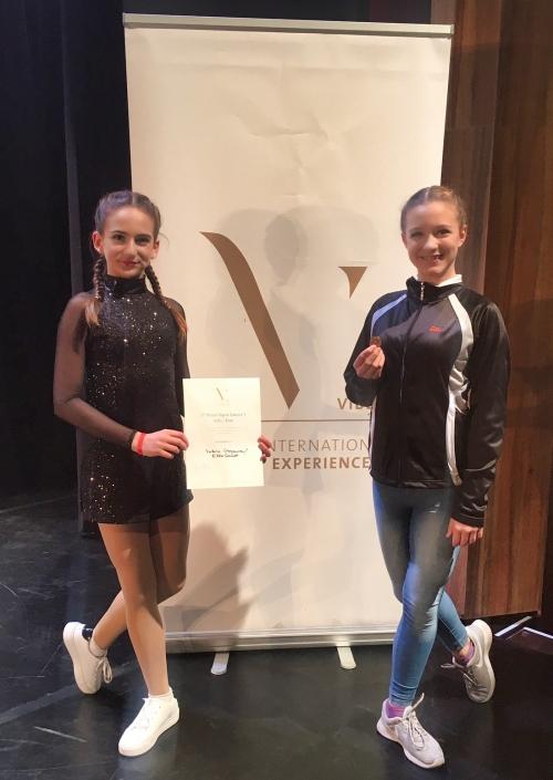 Valeria Stoyanova & Ella Schmidt, Bronze VIBE 2019