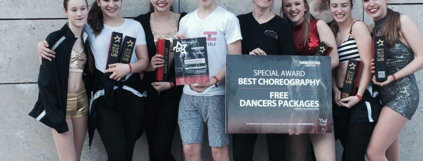 "Beste Choreographie ""Our Stories of Mourning"", DanceStar Austria 2017"