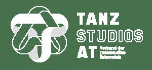 Weißes Logo Tanzstudio AT