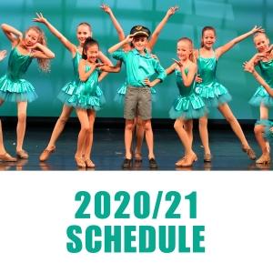 Schedule 2020/21